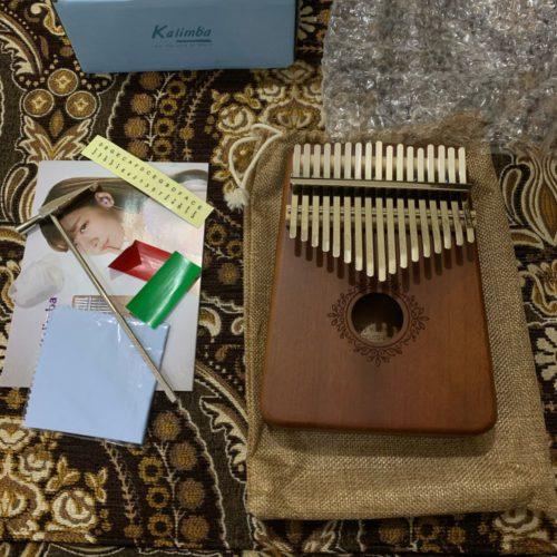 Handmade Kalimba photo review
