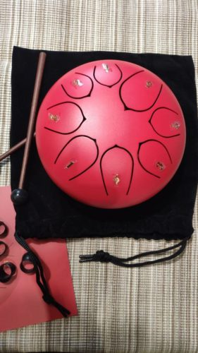 Steel Tongue Drum photo review